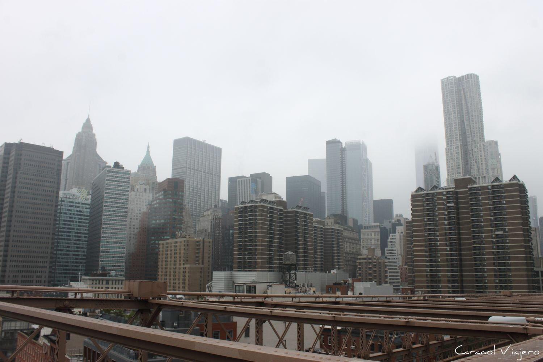 Nueva York con lluvia
