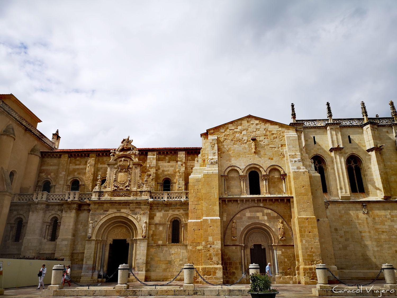Qué visitar en León - Colegiata de León