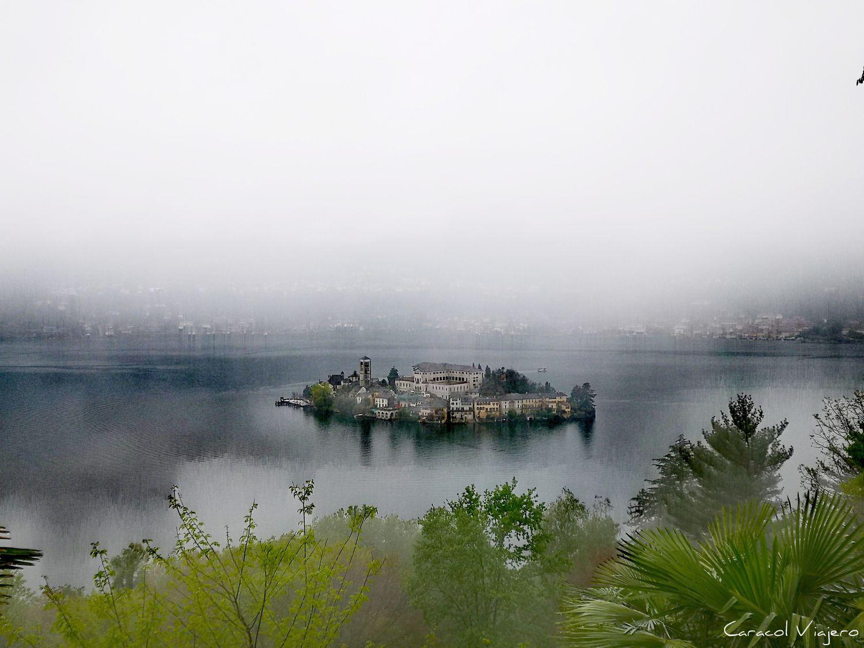Isla de San Giulio desde Sacro Monte