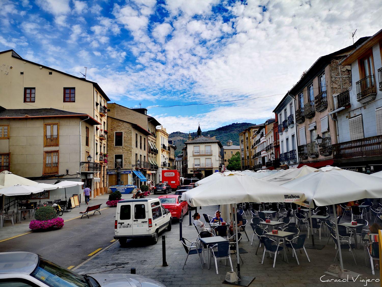 Calle Mayor en Villafranca del Bierzo