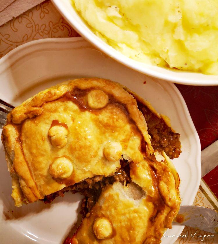 Meat Pie Australiano | Pastel de carne