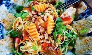 Ensalada vietnamita de papaya verde | 15 minutos