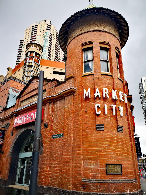 Market city en Chinatown