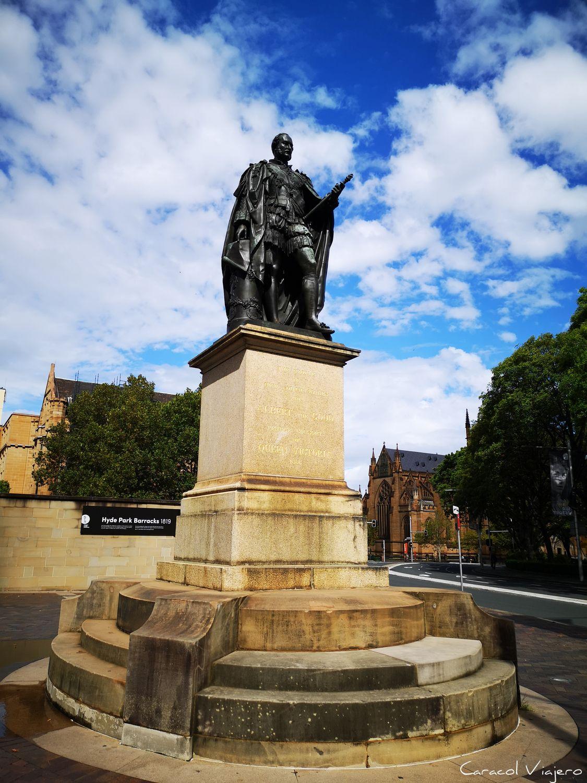 Estatua del príncipe Alberto Eduardo