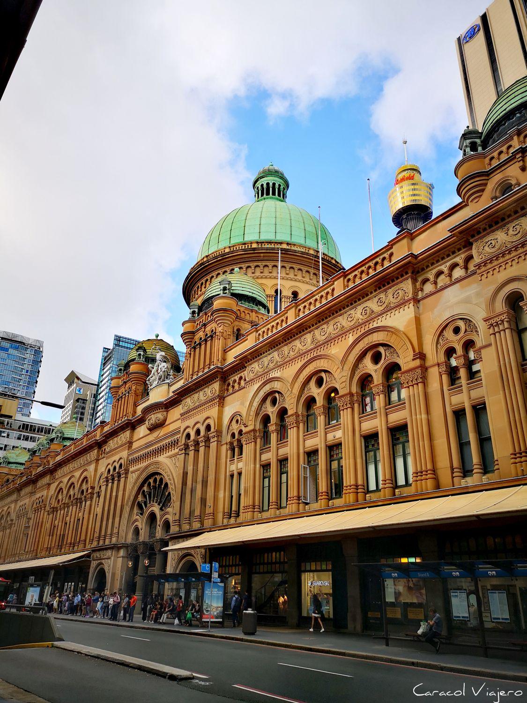 Edificio Queen Victoria de Sídney