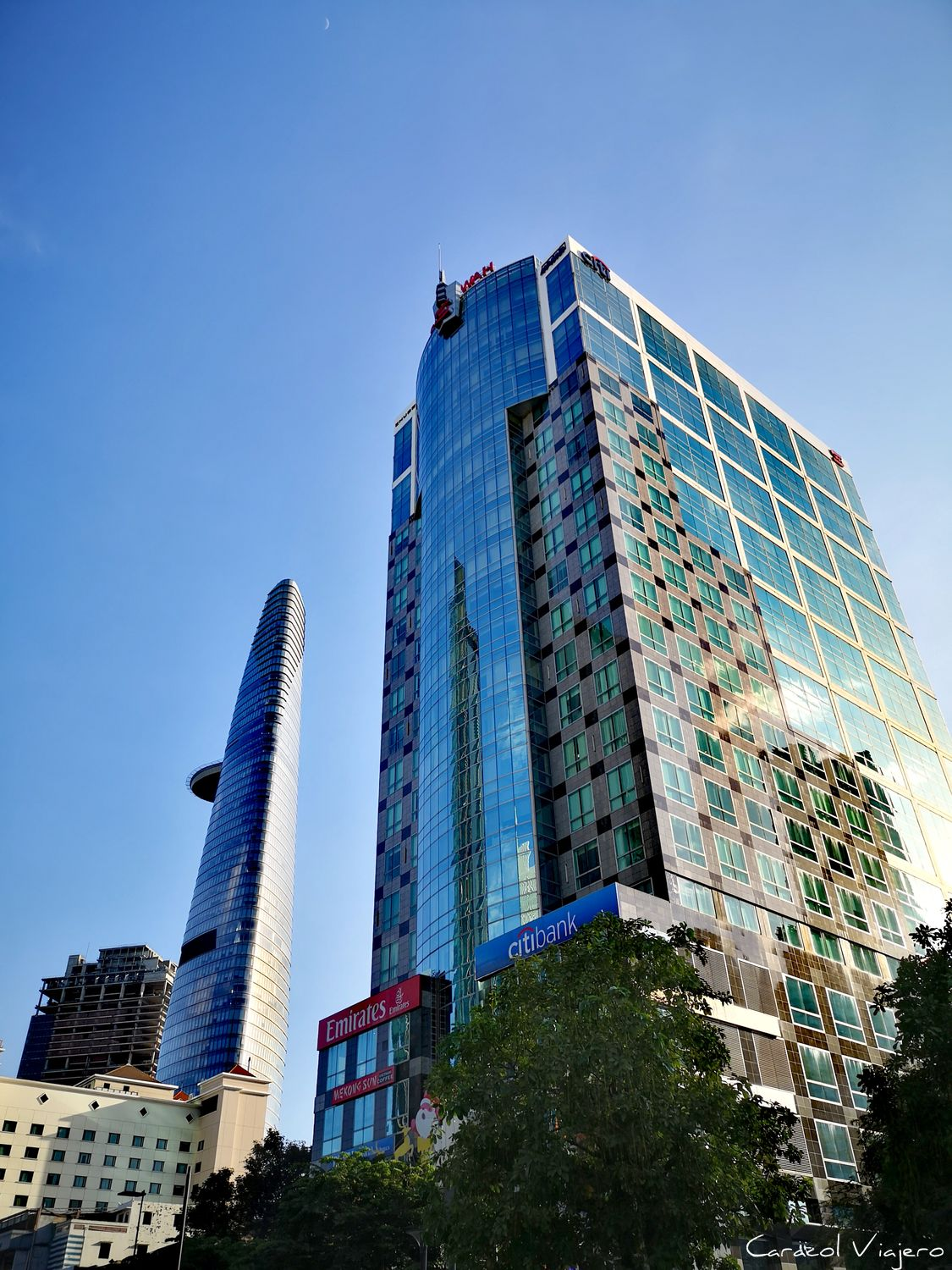 Bitexco Tower en Saigon