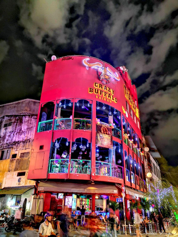 Zona mochileros Saigon