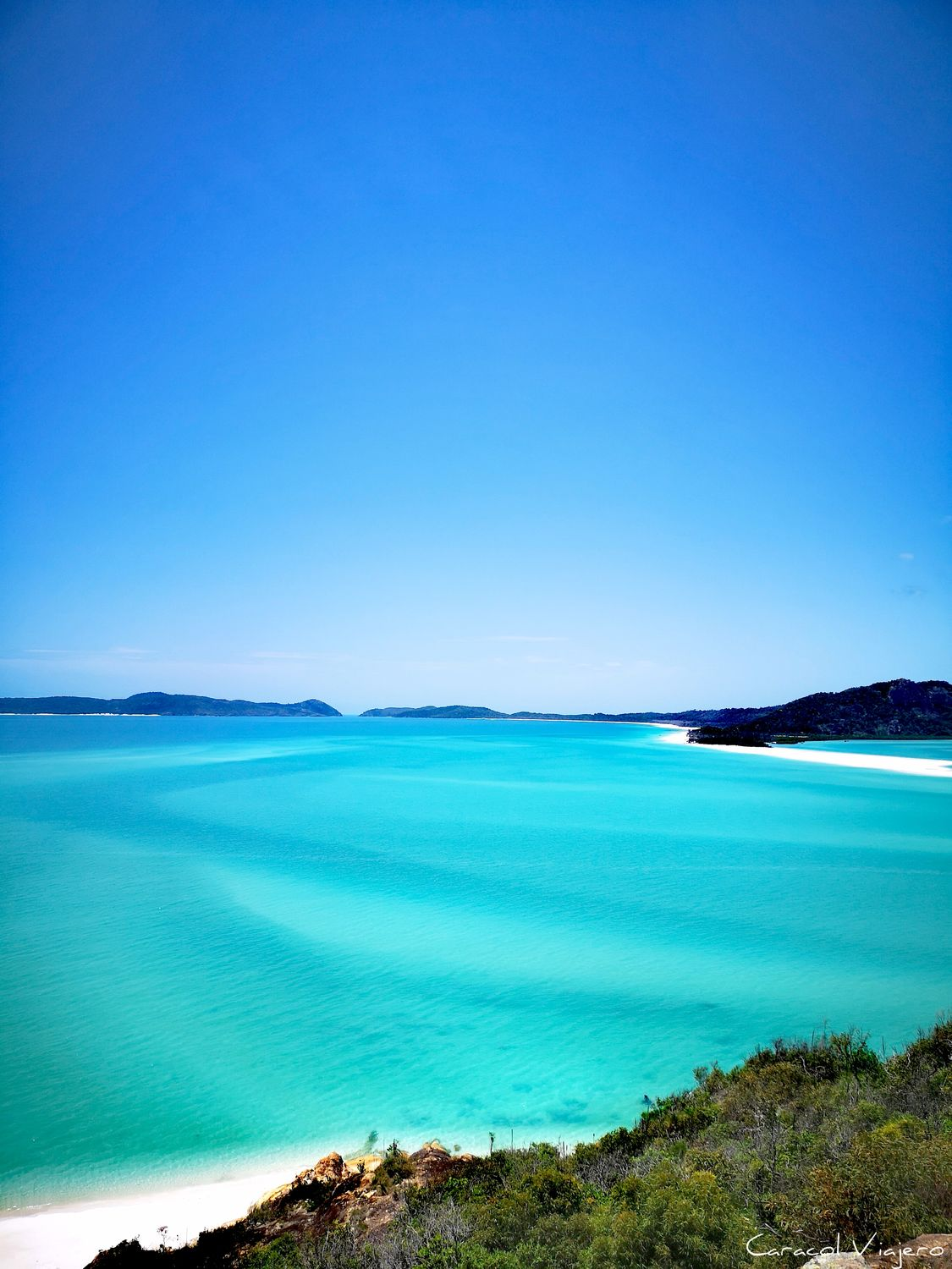 Arena azul whitsundays