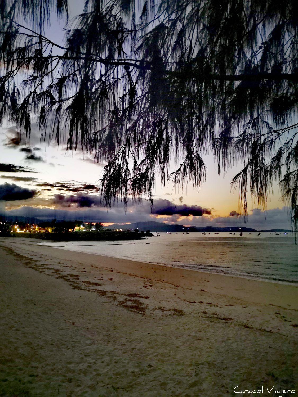 Atardecer playa Australia