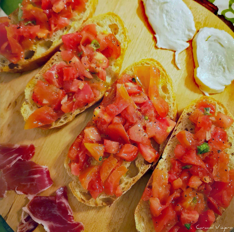 receta de bruschetta italiana
