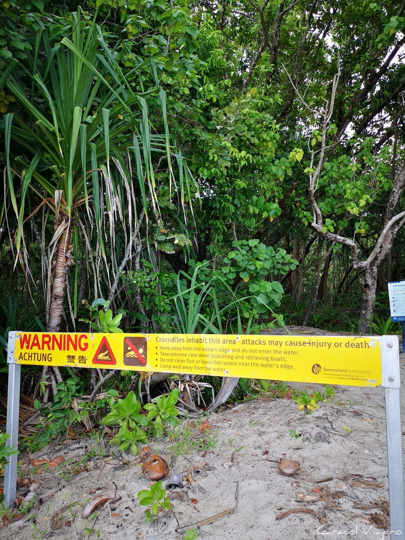 cocodrilos aviso