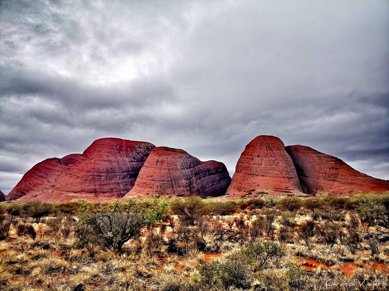 ruta por el desierto de Australia