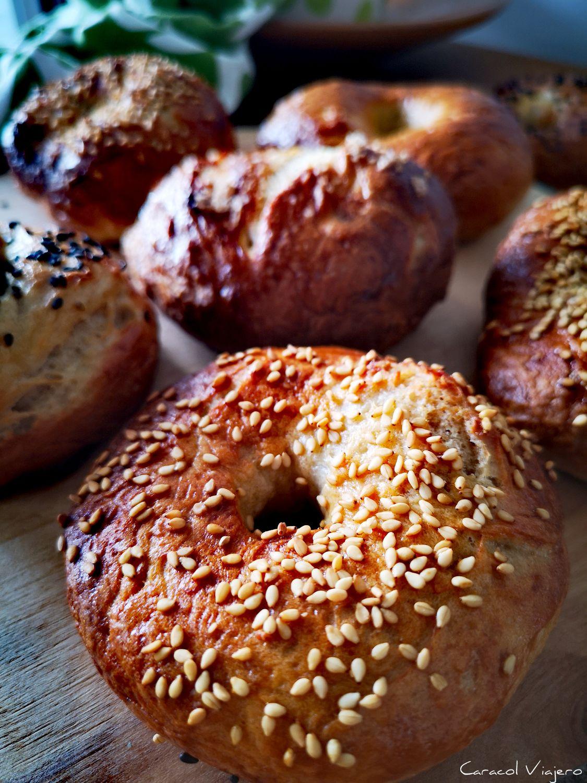 Bagels panes del mundo