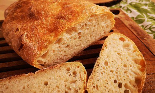 Pan chapata casero | Ciabatta con masa madre