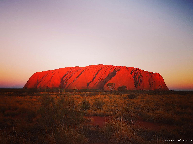 Ruta por el desierto de Australia - Uluru