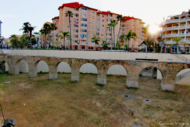 El acueducto de Almuñécar