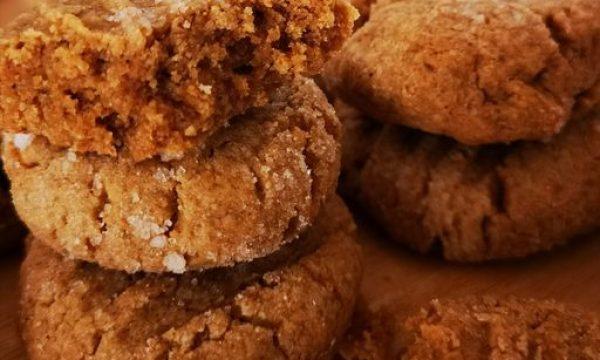 Galletas con crema de cacahuete y avena | 25 minutos