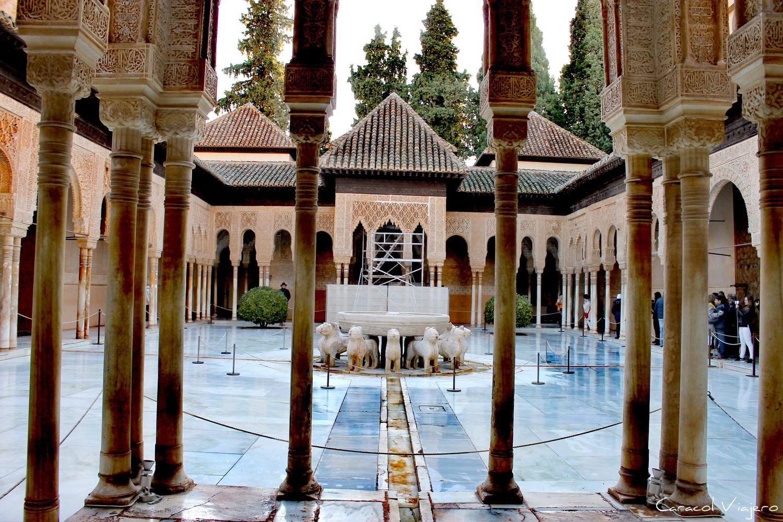 Interior de la Alhambra
