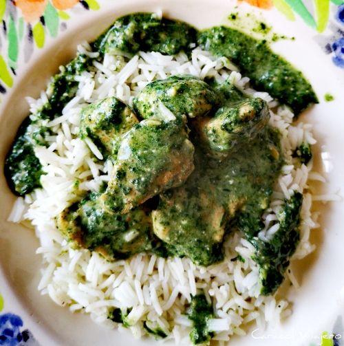 Espinacas al curry | Curry Palak hindú