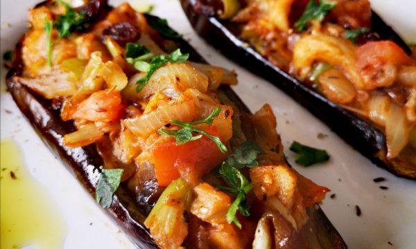 Imam Bayildi | Berenjenas turcas rellenas de verduras