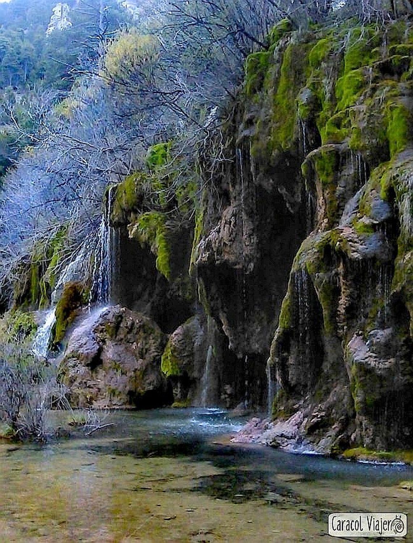 Nacimiento del Río Cuervo, Cuenca. España