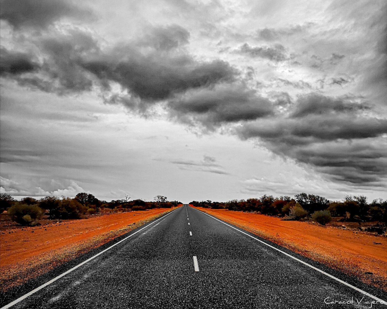 carreteras outback australiano