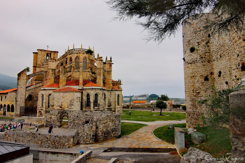 Vistas desde el castillo de Castro Urdiales