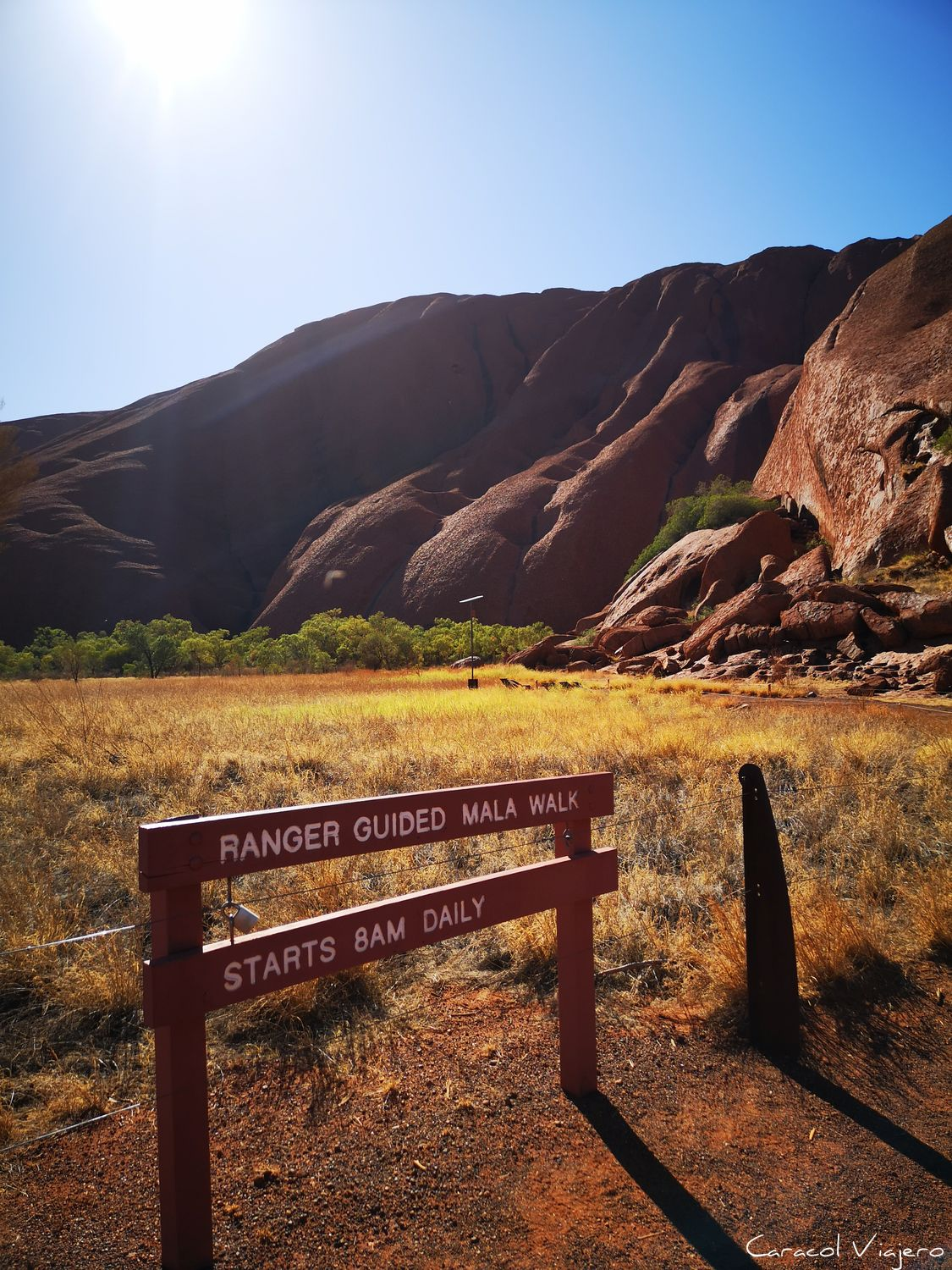 Meeting point uluru