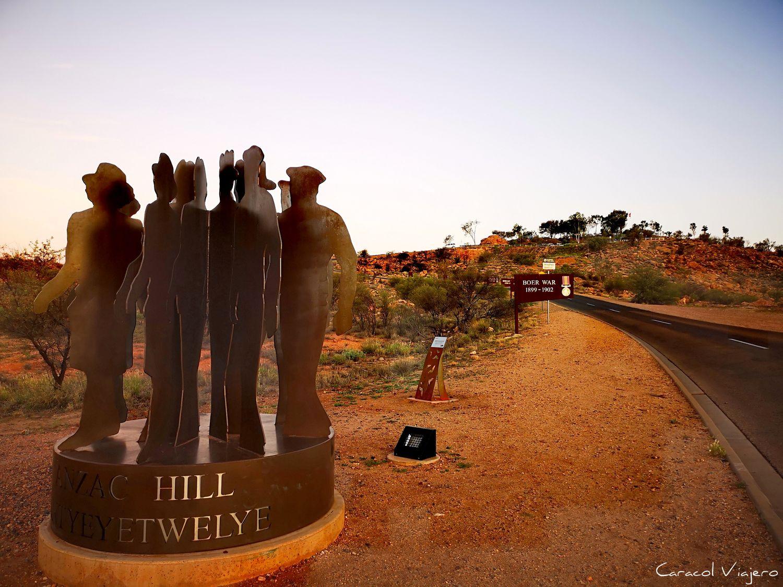 Memorial en Alice Springs