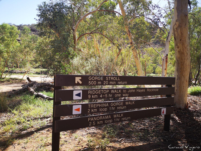 outback australiano señales