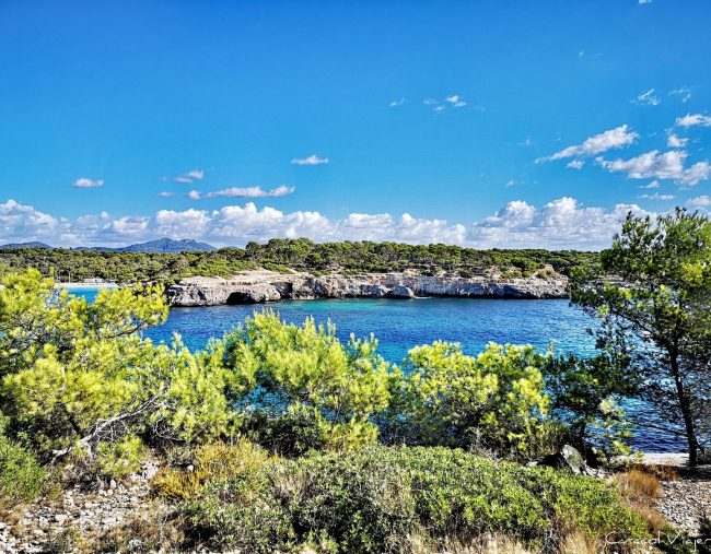 Cala Mondragó, playa S'Amarador   Rutas parque natural de Mondragó