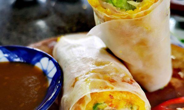 Banh Xeo – Crepe vietnamita de gamba y cerdo