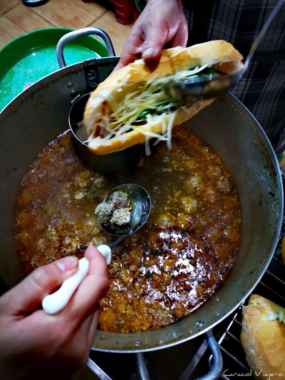 Comida típica en Da Lat