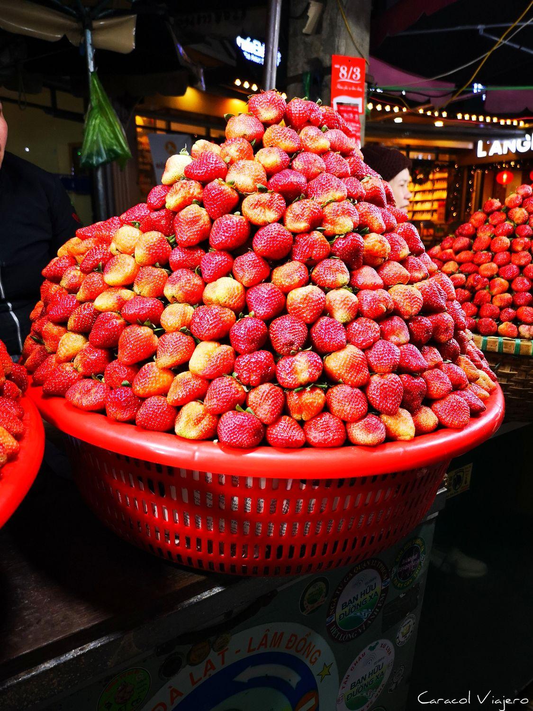 Fresas en Da Lat
