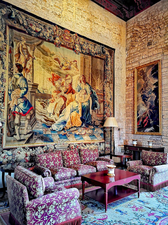 Interior del palacio real de la Almudaina