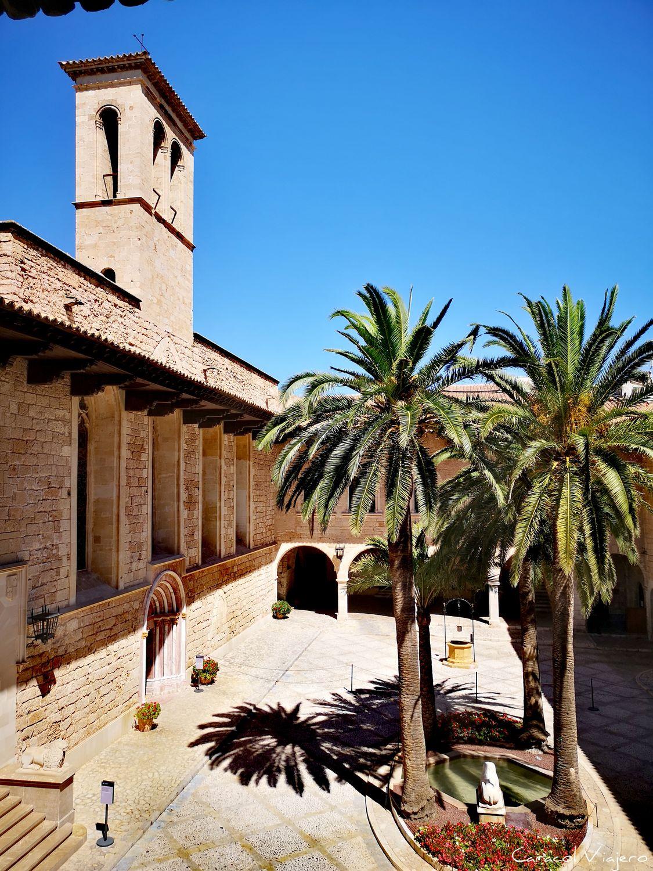Vistas palacio real de la Almudaina