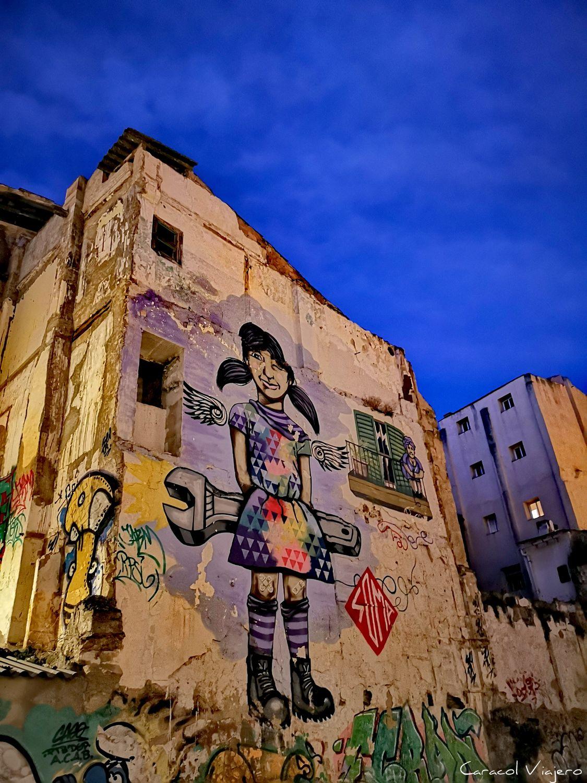 Arte urbano de SOMA, Palma
