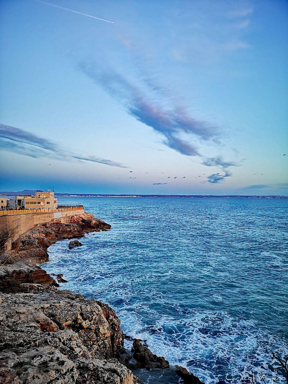 Palma, vistas del Dique del Oeste