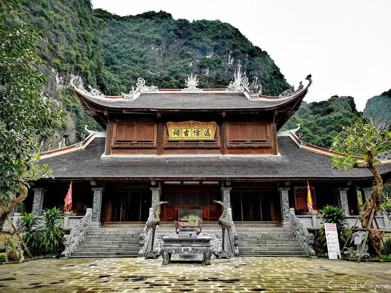 Templo en Tam Coc