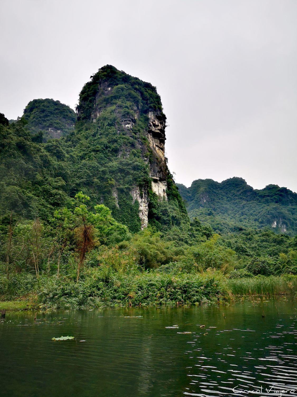 Tam Coc paisajes en Vietnam