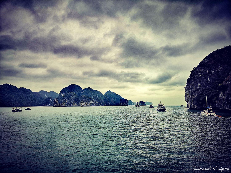 crucero en la bahía de Halong