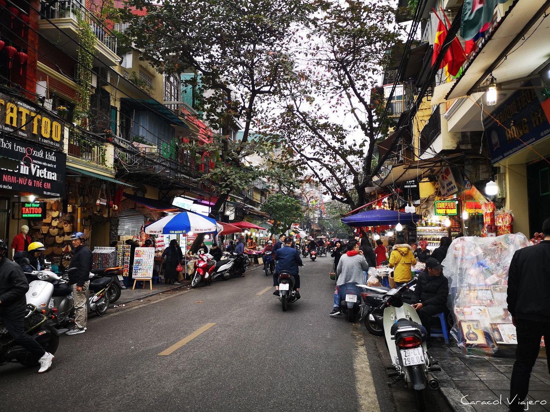 Barrio viejo Hanói
