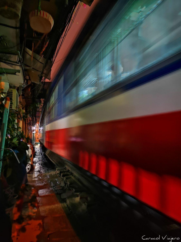 Train Street en Hanói