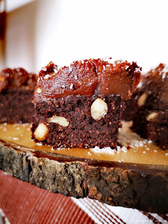 brownie de boniato saludable