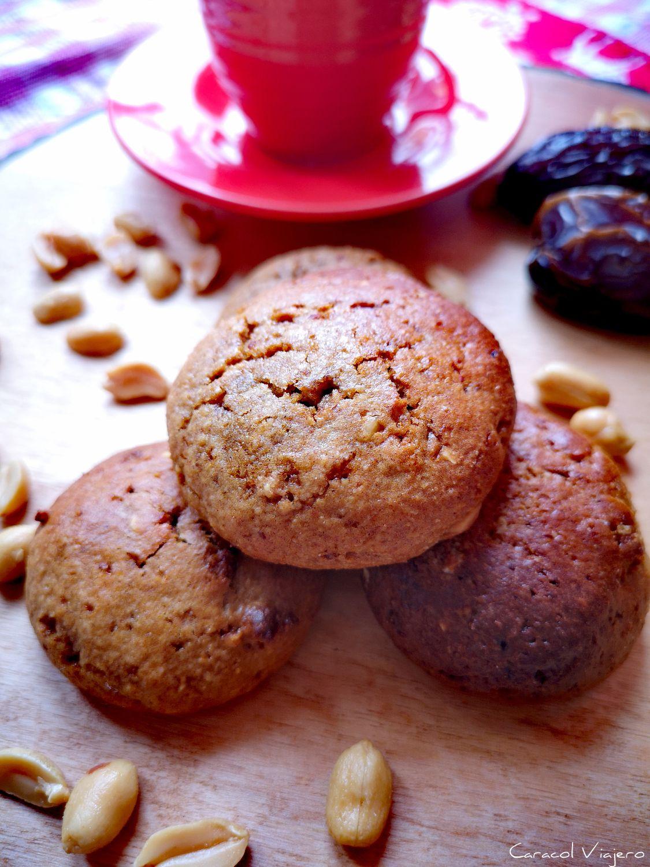 Cookies saludables de cacahuete