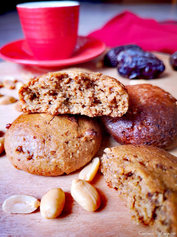 Cookies saludables de cacahuete   Sin azúcar