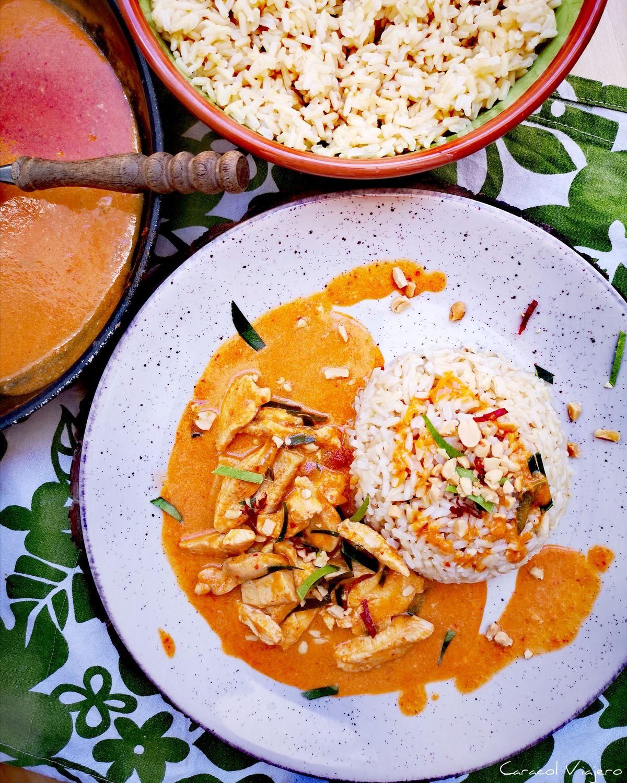 Curry Panang tailandés