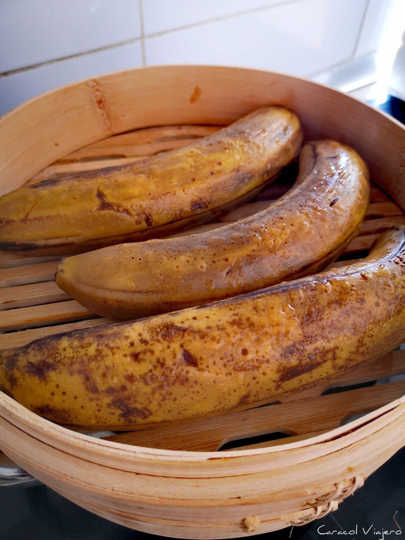 Bananas cocinadas